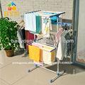 Byn varanda sala pendurado secador de roupa dobrável stand secador 0830-2p