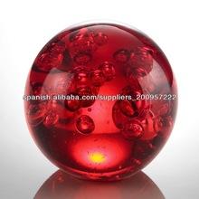 La bola de cristal / de cristal shpere / Esfera cristalina bola / Cristal