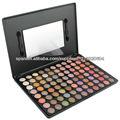 metal de sombra de ojos paleta de 88 colores