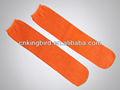 el color naranja de poliéster diposable de avión tubo calcetines