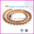 collares de moda 2014 nuevo diseño de la cadena de oro para los hombres