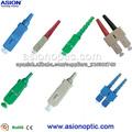 conector de fibra SC patch cord de fibra óptica