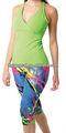 personalizada de nylon del spandex para mujer ropa de culturismo