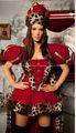 Fantasia rainha, super luxo l1380 cosplay