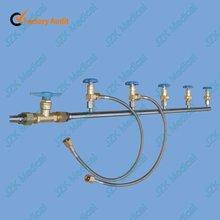 médico de gas sistema de tuberías para el suministro de oxígeno y óxido nitroso