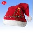 Santa claus navidad de la felpa tapa sombrero de navidad artículos x'mas