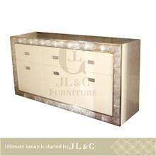 Personalizado mesa de tocador, aparador de madera, dresser jb14-07 venta al por mayor- jl& c muebles