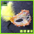 baile de máscaras de plumas de colores máscara de halloween party cosplay karneval máscaras de la cara del partido