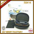 2014 nuevo supermercado modelo de lente cambiado raybanable deportes de seguridad gafas de sol bolsa&& caja& s5414 correa