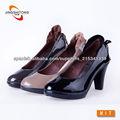 charol vestido de las mujeres del zapato
