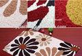 lavável eco friendly bordados à mão porta de entrada do tapete