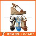 precio barato señoras sexy sandalias de tacón alto para 2014