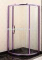 (a- 876) バイオレットカラー大きな銅のバスタブとシャワーのドア