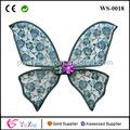 cian púrpura tinkerbell peonie flores cinta alas de hadas