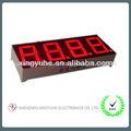 0.56 pulgadas color rojo de pantallas de led digital