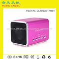 MUSIC ANGEL JH-MD05BT mini altavoz llamada con manos libres altavoces portátiles Bluetooth móvil con ranura para tarjeta TF