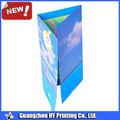 Eco- ambiente material de impresión del folleto folleto