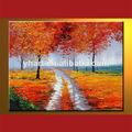 venta al por mayor de colores hechos a mano paisaje pintura en aerosol para la casa