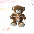 juguete de peluche personalizado sin relleno y oso de peluche de pieles
