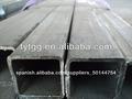 50* 50 de espesor de pared de hierro negro de tubo cuadrado y tubo rectangular hecha en china