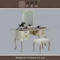 antiguo mobiliariodesala europeo de diseño de madera mesa de tocador