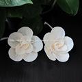 hechas a mano aroma difusor sola flor de madera