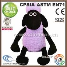 especial 2014 personalizado suave ovejas negro juguetes
