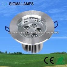 Hangzhou sigma atractivo apariencia 5W lámpara de techo llevada
