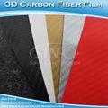 Auto adhésif élevé polymère 3d 1.52x30m film de vinyle en fibre de carbone