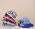 atacado clássico bowknot bonito palha mulher cloche dom senhoras chapéu fedora caps mulheres chapéus balde de praia