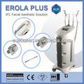 2013 mejor depilación máquina ce s3000/iso ipl portátil& rf máquina de la electrólisis