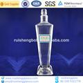 personalizar licor transparente botella de vidrio fabricante
