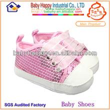 cáscara de color rosa de encaje suave suela transpirable bebé niña zapatos ocasionales