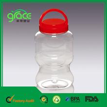 1320ml forma de vaso de plástico de garrafa pet