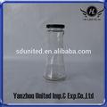 190ml de vidrio de bebidas botella con tapa caliente de la venta