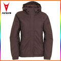 chaquetas de invierno para las señoras, chaqueta caliente de nylon