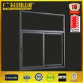 de moda de aluminio baratos cuarto de baño estándar de tamaño de la ventana