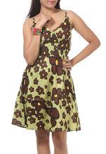 maxi vestido de algodón indio vestido mini vestido de dama de algodón de diseño