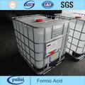 Fabricante de ácido fórmico 85% 64-18-6 pureza