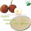 Gmp fabricação liofilizado lichia pó de celulose/suco de lichia pó/de sementes de lichia pó do extrato/lichia pó do extrato