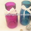 vases de verre bleu eco friendly gros vase en verre soufflé à la main boules en verre