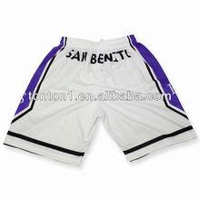 llanura de baloncesto pantalones cortos