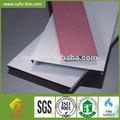 cor personalizada de alumínio tecto falso de tiras de metal para o interior do telhado