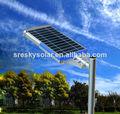 Todo en un ahorro de energía Led 30W Led farolas solares con poste