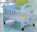 2014 mignon lit bébé superposé a été faite par le conseil E1 MDF et peinture de protection de l'environnement