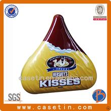 besos hersheys china fabricante de chocolate irregular de estaño pu