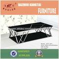Moderno diseño de cristal de muebles de mesa de café de cristal casa KTC-601