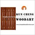 China fabricante/sólido de madera de madera foto de entrada de la puerta/puertas de madera de diseño