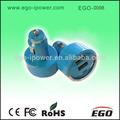 Ego-0098 cor azul 12v 2a carregador de carro