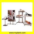 Diseño de moda de calzado tienda góndolas/mostradores/expositores